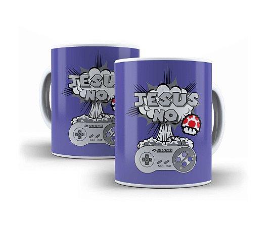Caneca Jesus no Controle