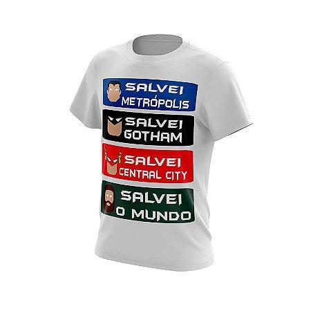 Camisa Salvou o Mundo