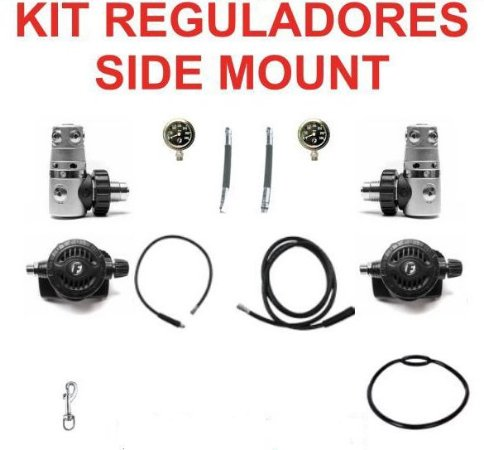 Kit de regulador Fun Dive modelo Sidemount