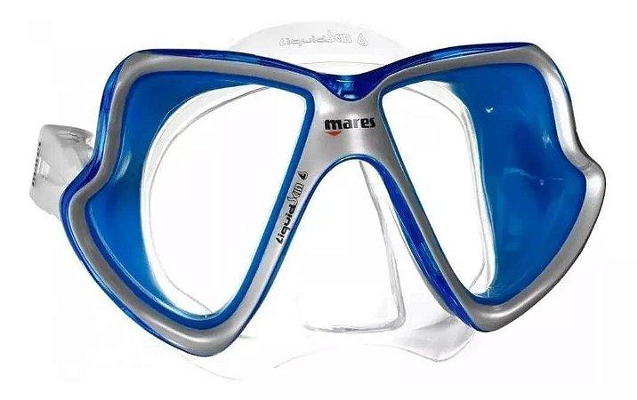 Máscara Mares X - Vision Liquidskin Silicone Transparente