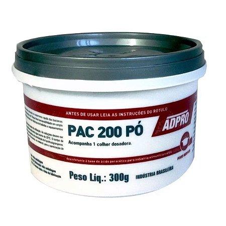 PAC 200 ADPRO - Desinfetante Ácido Peracítrico 300g