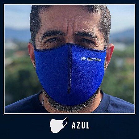 Máscara de Proteção Facial  em Neoprene - Azul