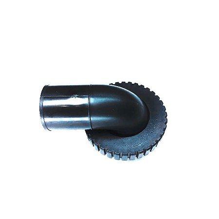 Conector Traqueia (Joelho) rosca fina 45 mm