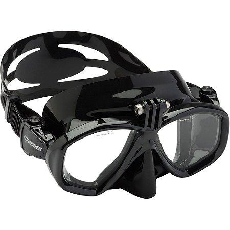Máscara de Mergulho Cressi Action Preto