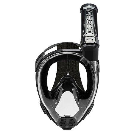 Máscara de Mergulho Full Face Baron Preto