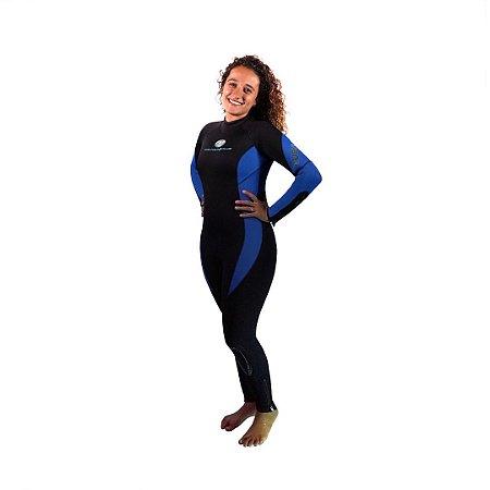 Roupa de Neoprene Tusa Jumpsuit Lady 5mm