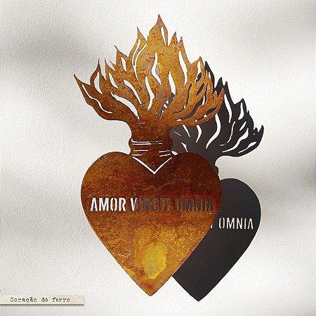 Coração  Sagrado Amor Vincit Omnia - G