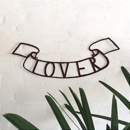 FRASE DE FERRO – LOVER