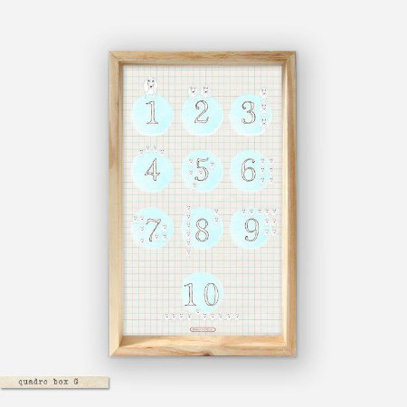 QUADRO BOX – 1,2,3,4…