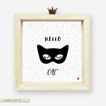 QUADRO BOX M – HELLO CAT #1