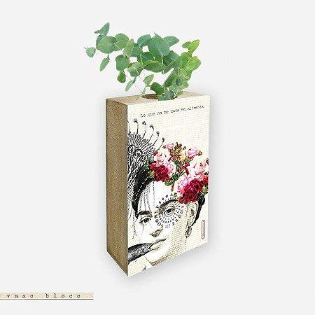 Vaso Bloco - Lo que no me mata me alimenta - Frida Kahlo