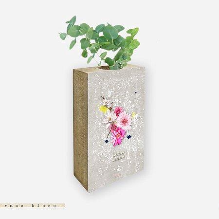 Vaso Bloco - No Rain. No Flowers #2
