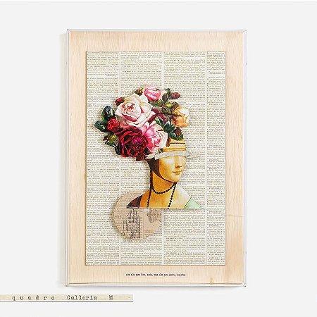 Quadro Galleria - Muda, até brotar flor