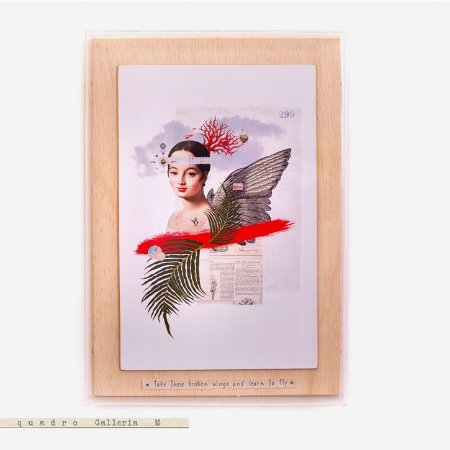Quadro Galleria - Caroline Take these broken wings