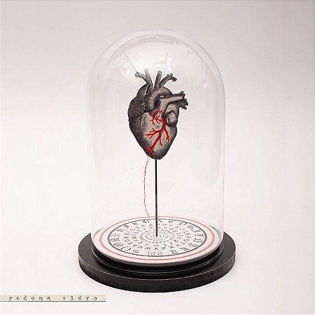 Redoma Universo - Coração Bordado