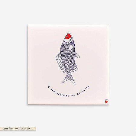 Quadro Azuleicha Avulso -  Peixe