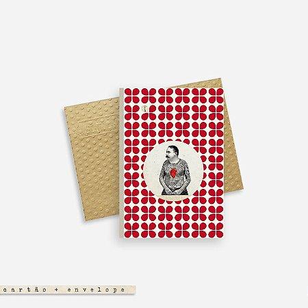 Cartão Envelope - Male