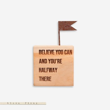 CUBO - Believe you can and you´re halfway there