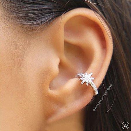 Piercing Estrela Cravejada