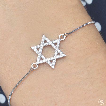 Pulseira Estrela de Davi