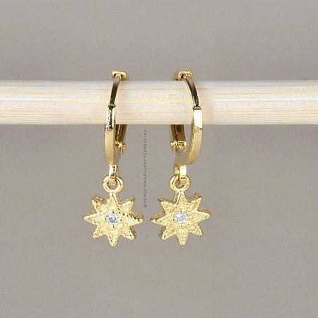 Mini Argola Estrela