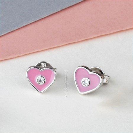Mini Coração - Rosa