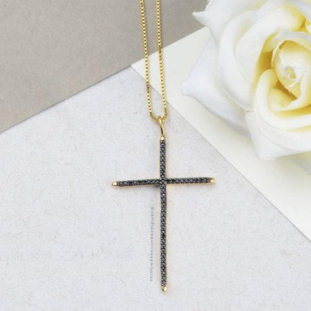 Crucifixo Cravejado