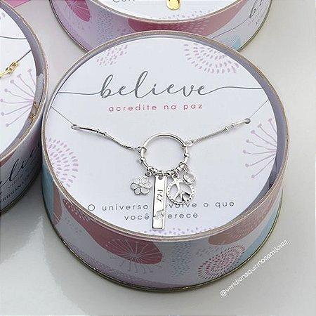 Colar da Paz - Coleção Believe