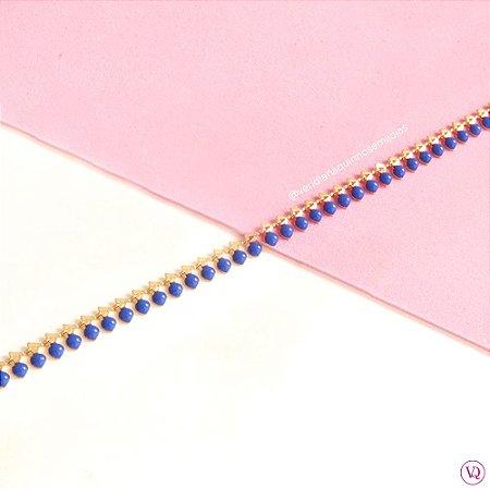 Pulseira Penduricalhos Azul