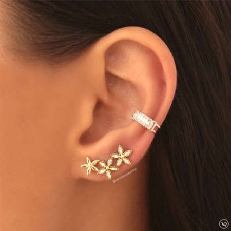 Ear Cuff de Flores