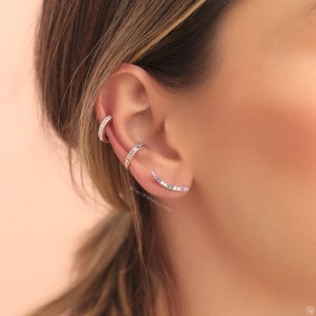 Ear Cuff Colorido