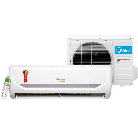 Ar Condicionado Split Midea Liva Inverter Wi-Fi 9000 Btus Ciclo Frio Classe A Branco 220 Volts [38KCN09M5]