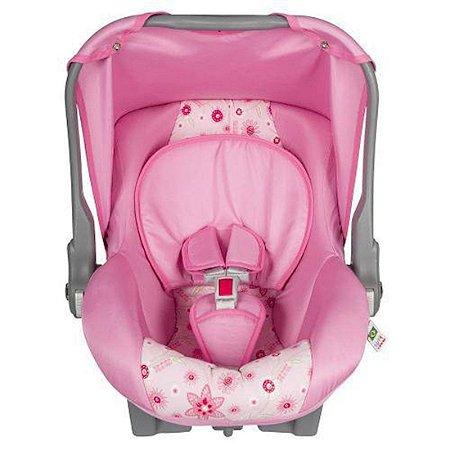 Bebê Conforto Tutti Baby Nino Retrátil Para Crianças Até 13 Kg - Rosa Laço New [0470027]