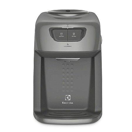Bebedouro de Mesa Electrolux 3 Temperaturas com Compressor 127 Volts Prata [BC21X]