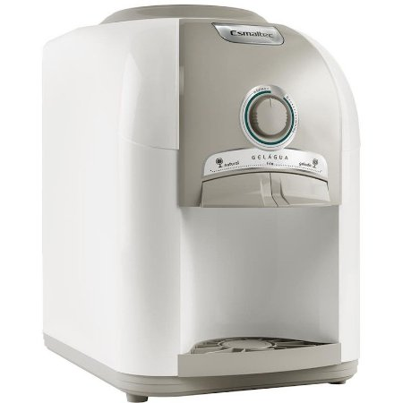 Bebedouro de Mesa Esmaltec 2 Temperaturas com Compressor 127 Volts Branco/Cinza [EGM30]