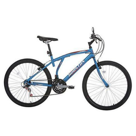 Bicicleta Aro 26 Houston Atlantis Mad 21 Marchas Azul Fosco