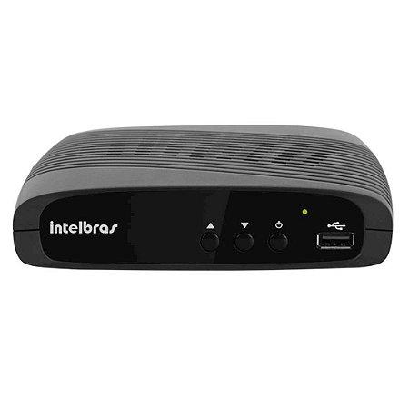 Conversor e Gravador Digital Full HD Intelbras com Entrada HDMI e USB Preto [CD636]