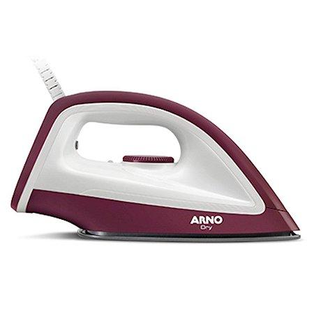 Ferro Arno Seco Dry Base Antiaderente 03 Posições de Controle de Temperatura 127 Volts Vinho [FDRY]