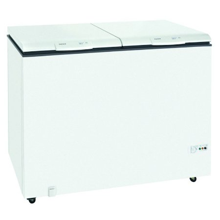 Freezer Horizontal Consul 404L 2 Portas Dreno Frontal 127 Volts Classe D Branco [CHB42DB]
