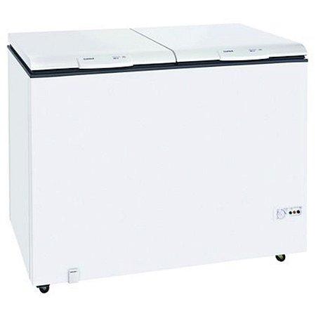 Freezer Horizontal Consul 519L 2 Portas Controle de Temperatura 127 Volts Classe D Branco [CHB53CB]
