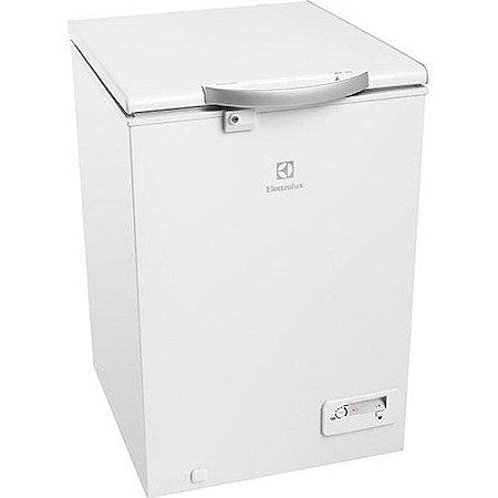 Freezer Horizontal Electrolux 149L 1 Porta Dreno Frontal Rodízios 127 Volts Branco [H162]