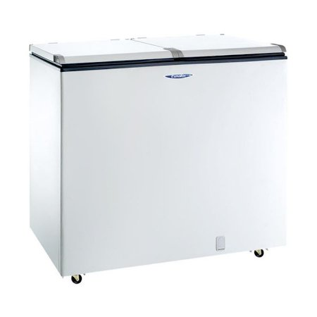 Freezer Horizontal Esmaltec 305L 2 Portas Dreno Frontal 127 Volts Classe A Branco [EFH350]