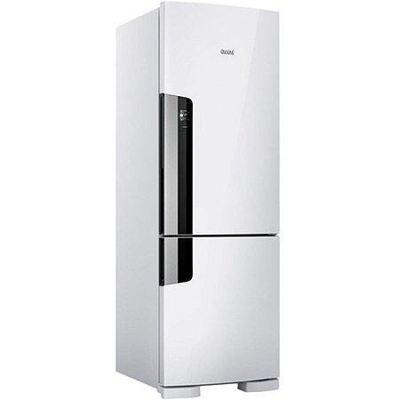 Geladeria/Refrigerador Consul Frost Free 397 litros com Freezer Embaixo CRE44 Branca 110V