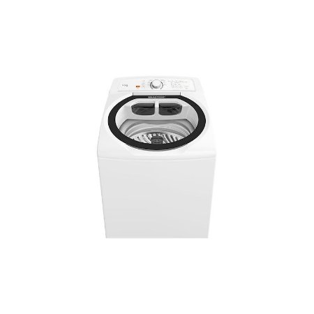 Maquina de lavar Brastemp 12KG Display Digital Superfiltro Enxágue Antiarlégico 7 Programas de Lavagem Branca 127 Volts [BWT12ABANA]
