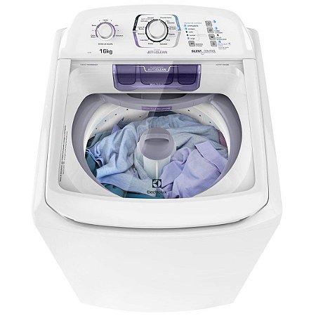 Maquina de lavar Electrolux 16KG Ciclo Silencioso Dispenser Autolimpante 12 Programas de Lavagem Branca 127 Volts [LAC16]