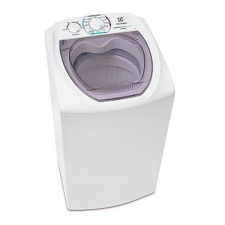 Maquina de lavar Electrolux 6KG Turbo Economia Filtro Pega-fiapos Branca 127 Volts [LTD06]