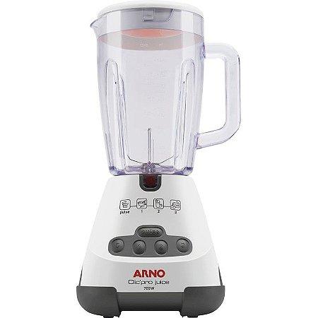 Liquidificador Arno Clic'Pro Juice 3 Velocidades + Pulsar Filtro Teclado Soft Touch Branco 127 Volts [LN4S]