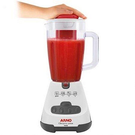 Liquidificador Arno Clic'pro Juice Painel Soft Touch 3 Velocidades + Pulsar Branco 127 Volts [LN4J]