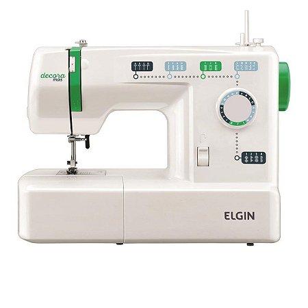 Máquina de Costura Elgin Decora Mais 2011 11 Pontos 127 Volts Branco [JX2011 BR]