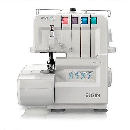 Máquina de Costura Elgin Decora Overlock 1300 Pontos por Mínuto 127 Volts Branco [OV1000 BR]